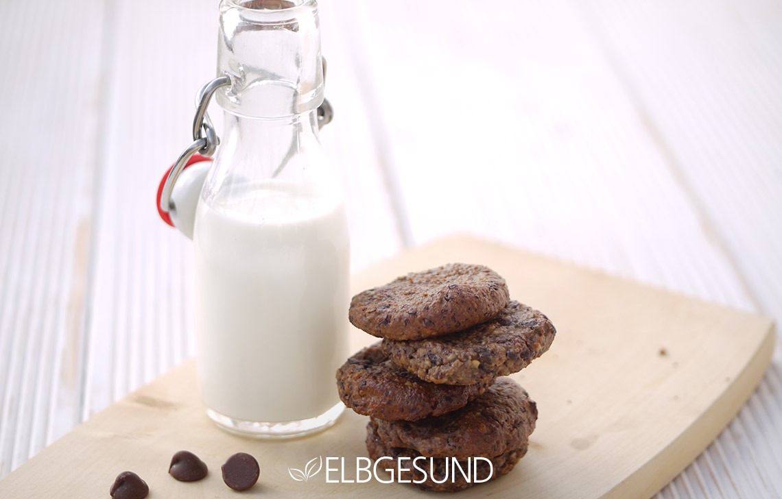schoko cookies mit gutem gewissen naschen elbgesund. Black Bedroom Furniture Sets. Home Design Ideas