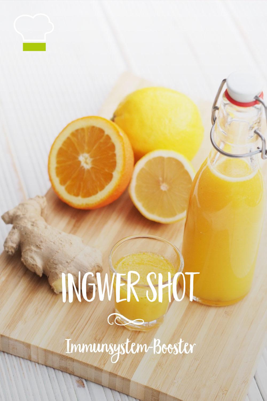 Ingwer Shot