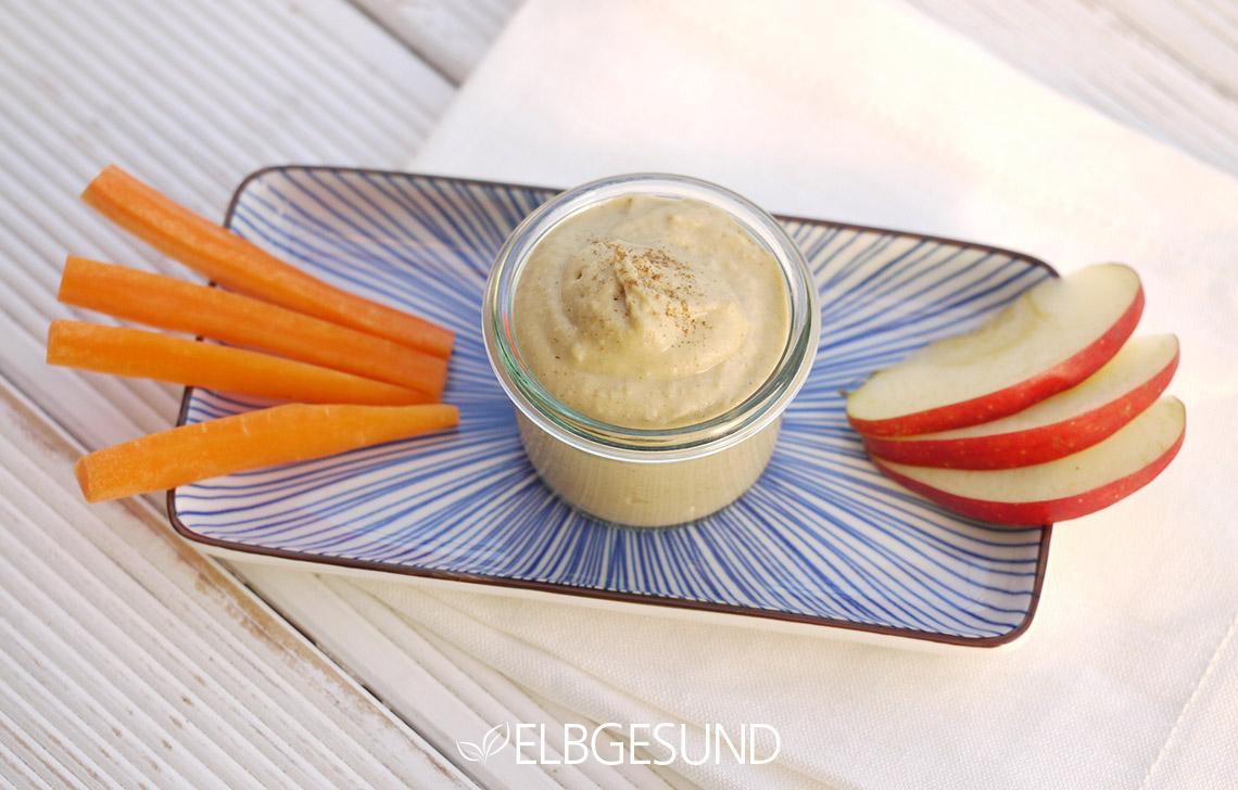 Sweet Hummus – heute mal als süßer Dip!