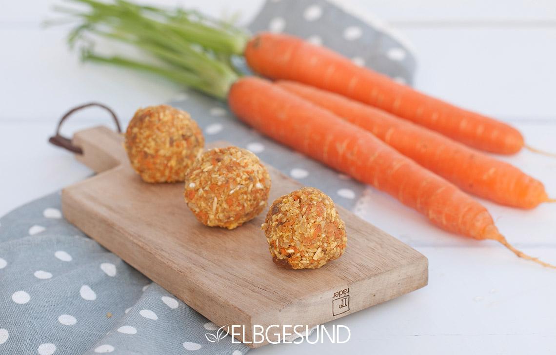 Carrot-Cake-Energyballs Foodblogbilanz 2019