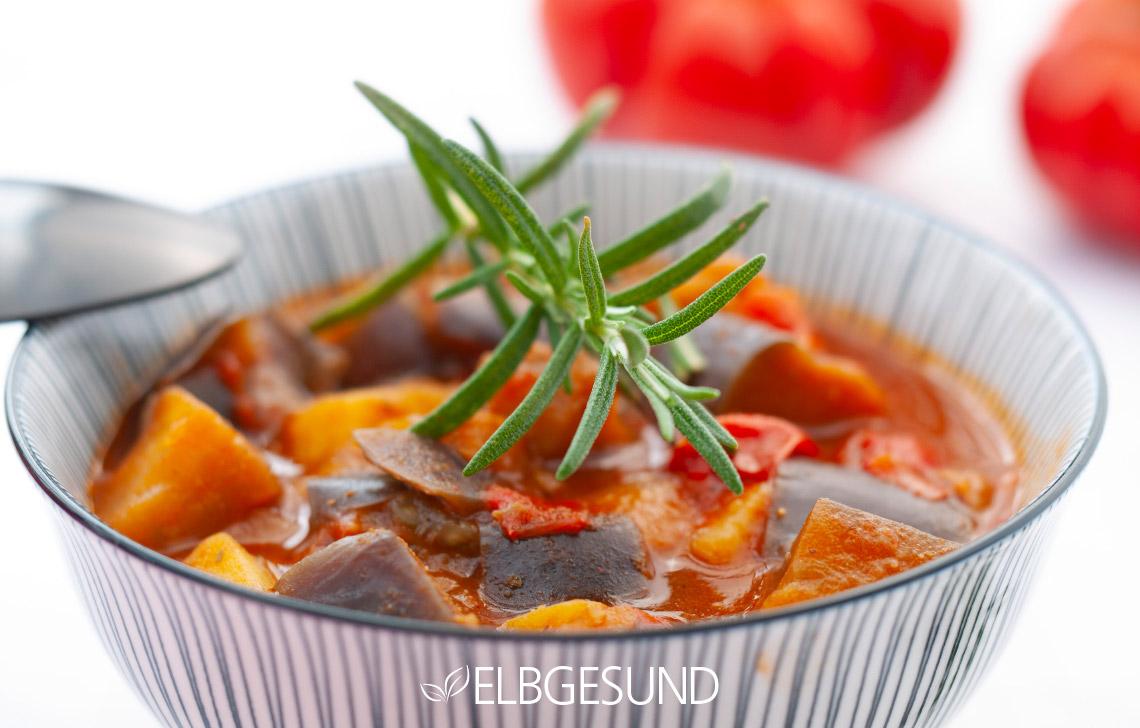 Auberginen-Suppe